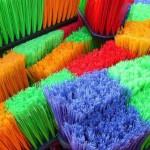 Reinigung-Besen