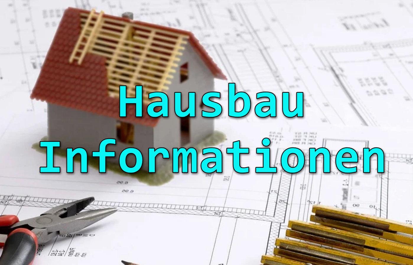 Hausbau Beton Informationen